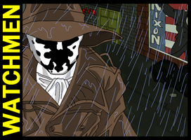 Watchmen: Rorschach by genocyber