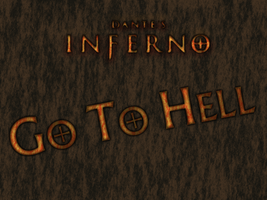 dante's inferno GO TO HELL by MARSHOOD