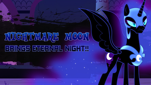 Super Smash Ponies New Challenger: Nightmare Moon by DashieMLPFiM