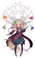 Kiana pixel dollie by Naiichie