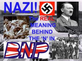 Nazi, putting the N in BNP by dead-anarchist-phil