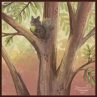 squirrel by Paleona
