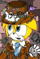 SteamPunk Tails by SilverHedgie