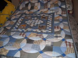 Trains quilt by quiltergal
