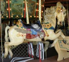 Gage Park Carousel 8 by Falln-Stock