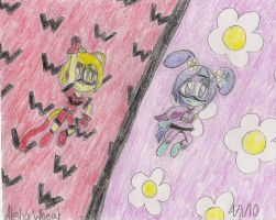 Wonder Wubbzy and Flower Power by QueenMariposa