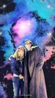-The Doctor and Rose- by Orchidea-Blu