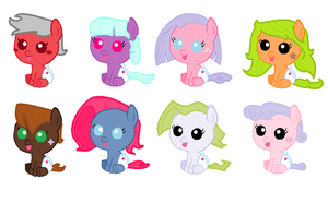 Mystery Adopts REVEALED NO. 2 NOW AVAIABLE by Pegasister15