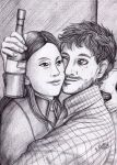 Hannibal - Beer friends and a dog by FuriarossaAndMimma