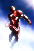 Iron Man by Aspersio