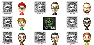Rooster Teeth/Achievement Hunter Mii by weakfoggy