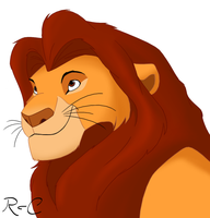 Mufasa by DarkRika