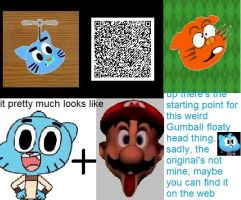 Gumball head thingy QR by totaldarwin