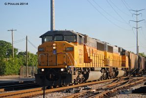 UP SD60Ms at CPLG 0078 6-6-14 by eyepilot13