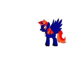 EliteFlame (with his new cross) by EliteFlame