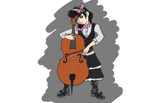 Celloist (College Final) by AAAStudios