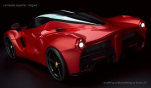 La Ferrari Cyclestest Rear by koleos33