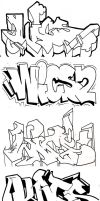 WICS2 Stylechase Styles 26-30 by wics2