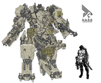 H.A.S.S - Hard Assult Suit Squad by obokhan