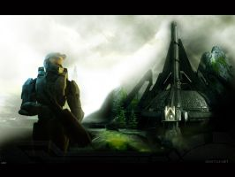 Halo 3 Wallpaper 3 by igotgame1075