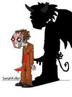 the soul of serial killer by draww
