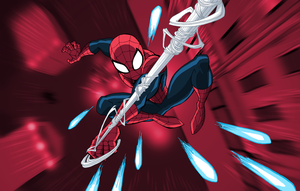 Marvel Infinite Comics: Ultimate Spider-Man 16 by LucianoVecchio