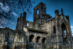 Kirkstall Abbey by phaideaux