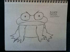 Death Frog Sketch by MoodyShooter