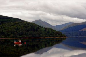 On the bonnie bonnie banks of Loch Lomond by Nordstjarna