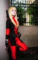 Lady Deadpool Cosplay by BlindRainbow