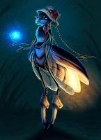 Audrey the Firefly! by painted-bees