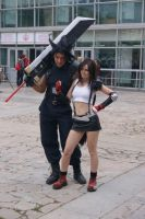 Tifa and Zack at Chebicon 2012 by NightNike