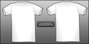 Shirt Template by IKorteXI