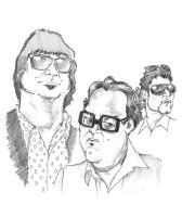 Los Tres by pituman