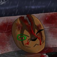 Rain: Wash away the blood and the memory of me... by annathewerewolf