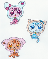 Celestial Pretty Cure! Mascots by sekaiichihappy