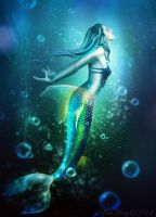 Mermaid by katmary