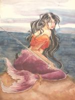 gypsy mermaid by Asagiki