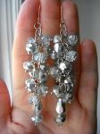 Request: Crystal bracelet upcycled by lynneabrunner