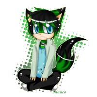 Comm .: Chibi Alex:. by miauco
