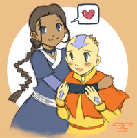 Avatar: Kataang plz by piano-kun