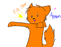 Fire star approves! *stamp by Delta-kitty