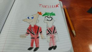 Phineas And Ferb Thriller by SonicX16