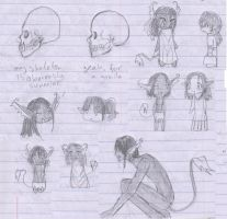 Cannibal Doodles by Torenchiko-to