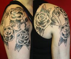 breast cancer memorial progres by SimplyTattoo