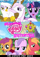 Shadvivor Equestria DVD Cover by shadow0knight