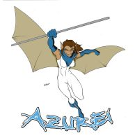 Commission: Azurei T-shirt by GavinMichelli
