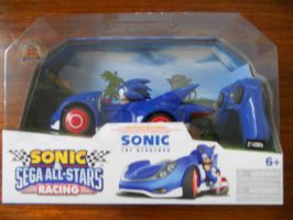 SaSASR Sonic RC Car by BoomSonic514