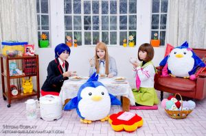 Kare should be eaten with loved ones by Hitomi-Cosplay