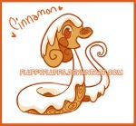 Auction Adoptable: Fluffysnake Cinnamon (closed) by FluffyFluffs